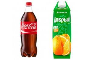 Купить безалкогольные напитки в Калининграде. Бесплатная доставка
