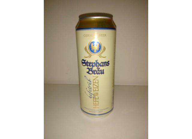 Пиво Штефанс Брау Хефевайзер св. н/ф алк. 5,3% Германия