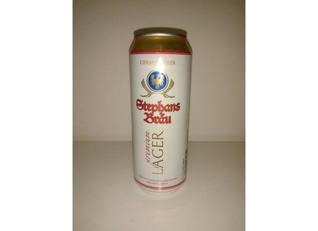 Пиво Штефанс Брау Лагер св. алк. 5,0% Германия