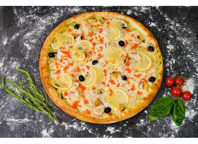 Пицца  Морской коктейль XL 40 см NEW