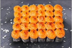 Сет Хосомаки под сырным соусом (шапочка из сырного соуса с сыром Пармезан) 30 шт.
