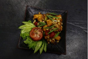 Жаренная курица с овощами NEW