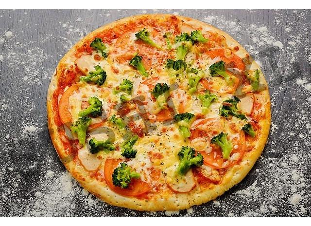 Пицца Курица и Брокколи