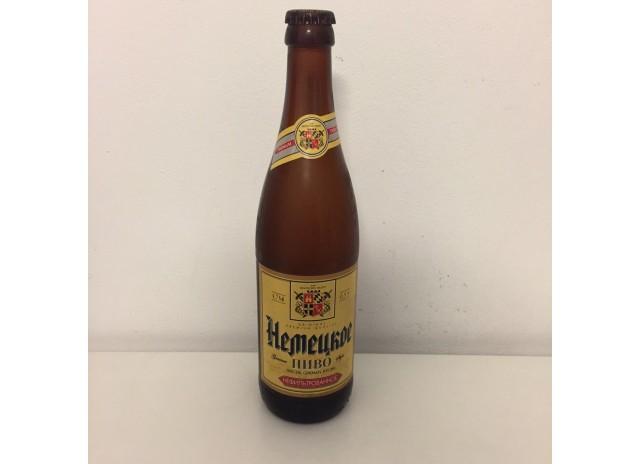 """Пиво """"Немецкое"""" нефильтрованное светлое алк. 4,7%"""