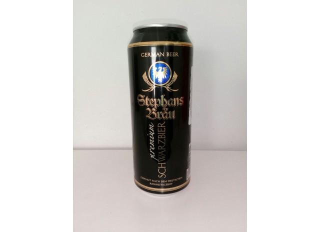 Пиво Штефанс Брау Хефевайзер темное 4,8% Германия